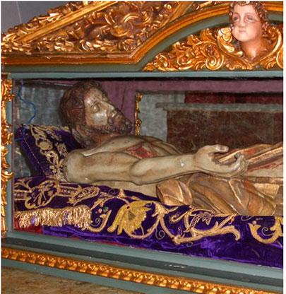 Cristo del Descendimiento.- Sigüenza (Foto: Javier Bravo, Prensa Sigüenza)