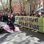 El sector del campo sale a la calle en Guadalajara