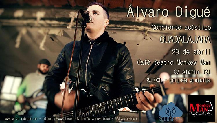 Cartel de la próxima actuación en Guadalajara (Foto: Sonogrand)