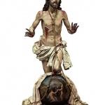 El Cristo del Perdón de Atienza, en las Edades del Hombre en Cuéllar