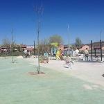 Va cogiendo forma el nuevo parque de La Salinera