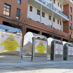 Entran en funcionamiento los contenedores soterrados de la Plaza 3 de Abril de Azuqueca