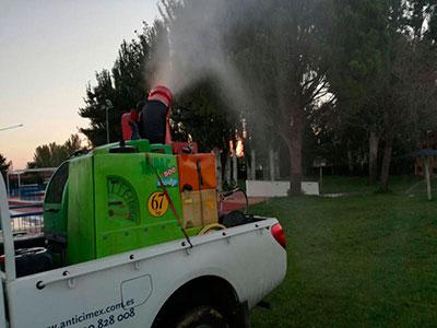 Esta semana, comienza a aplicarse en Azuqueca un tratamiento larvicida para combatir los mosquitos