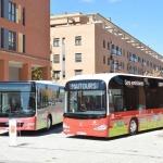 En marcha los nuevos autobuses urbanos de Azuqueca