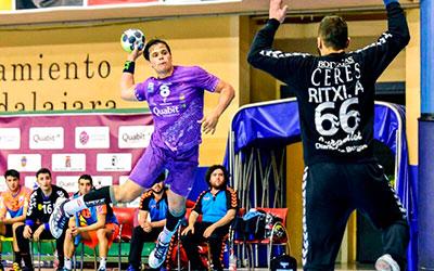 El David Santamaría despidió la temporada del BM Guadalajara