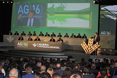 Imagen de la asamblea celebrada el pasado año