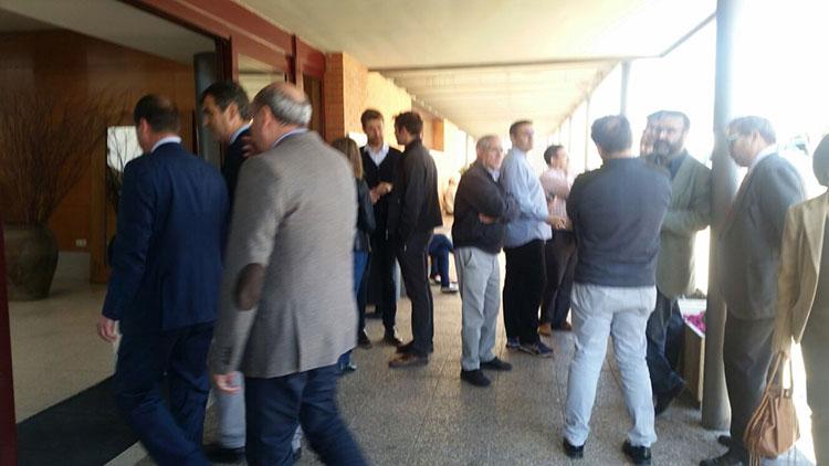 En la imagen el alcalde de Guadalajara, Antonio Roán con José Manuel Latre presidente de la Diputación y acompañados del Alberto Rojo, delegado de la Junta