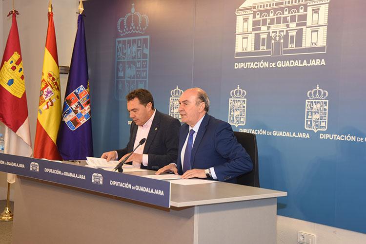 Latre ha indicado que la Diputación de Guadalajara ha solicitado una reunión de la Comisión Mixta de Coordinación y seguimiento del Plan extraordinario de Empleo para 2017