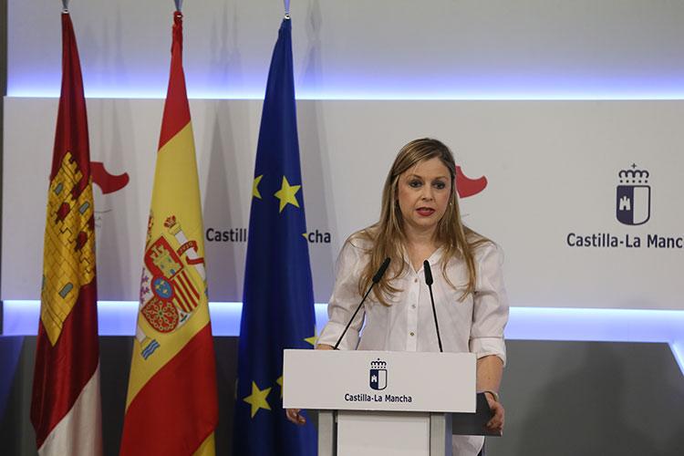 Elena de la Cruz en una reciente intervención