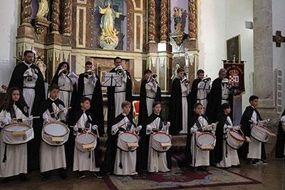 Una actuación de la Asociación de la Virgen de la Soledad de Fuentenovilla