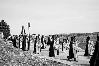 Procesión de la Soledad en Fuentenovilla