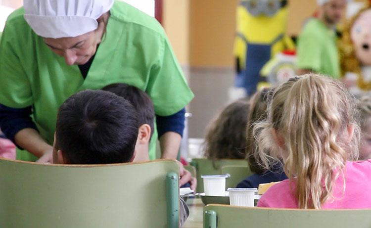 Durante el mes de julio permanecerá abierto el comedor escolar del CP Sanz Vázquez