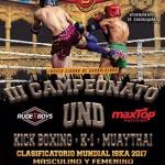 El mejor Kick Boxing nacional se da cita en Guadalajara este sábado