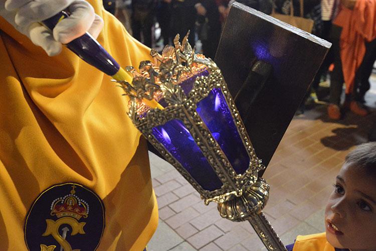 Procesión de María Santísima Misericordiosa.- Guadalajara Lunes Santo
