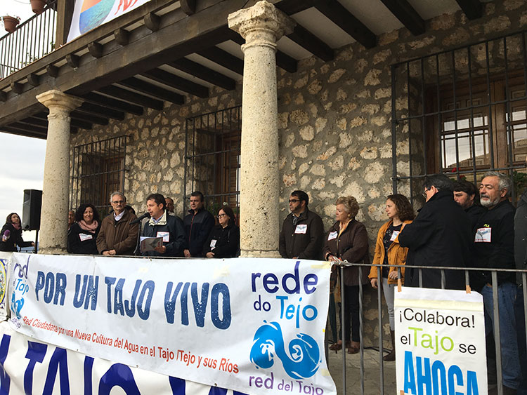 Intervención de Francisco Pérez Torrecilla, presidente de los ribereños