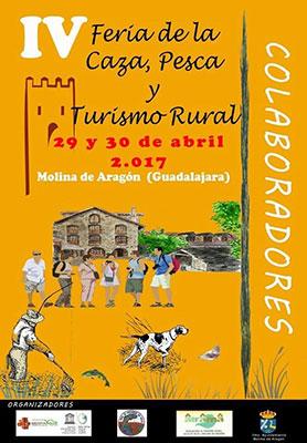 Cartel anunciador de la feria que se va a celebrar en Molina de Aragón este fin de semana