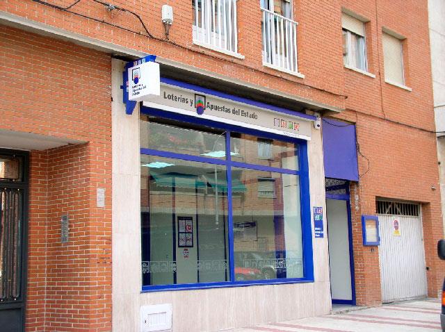 La administración de loterías número 10 de Guadalajara, situada en la Avenida de Barcelona ha sido una de las afortunadas