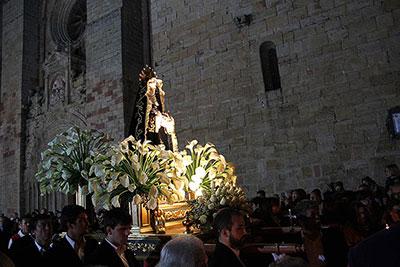 Procesión del Silencio enl a Semana Santa de Sigüenza