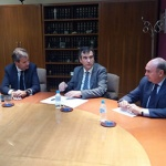 Román y Latre se reunen con el presidente de RENFE para buscar una solución a Cercanías
