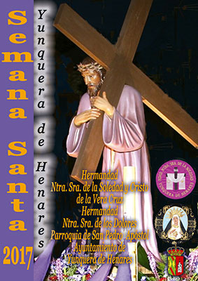 Portada del programa de Semana Santa de Yunquera de Henares
