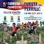 """El próximo sábado 6 se celebra la V Carrera """"Cuesta del Perrillo"""" de Atanzón"""