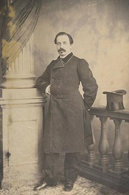 Tirso de Obregón en 1870