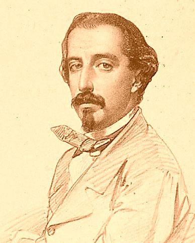 Tirso de Obregón, en 1858
