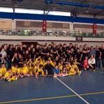 El Atlético Almonacid homenajea a su entrenador, Diego Martín