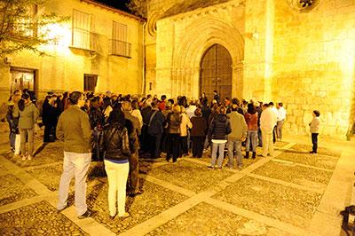 Visita nocturna en el Día del Turista en Brihuega