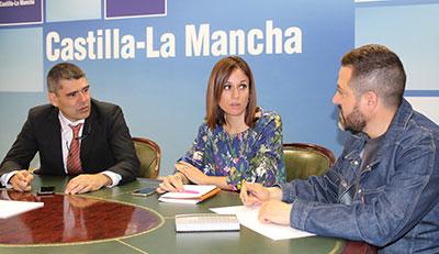 Fructífera reunion entre el Gobierno Regional y el Ayuntamiento de Brihuega para promocionar el festival de la Lavanda