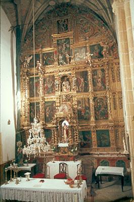 Cubillas del Pinar.- retablo