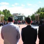 Cabanillas y Marchamalo se unen en un minuto de silencio por el joven fallecido