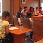 El Consejo de la Infancia de Cabanillas plantea sus demandas a la corporación municipal