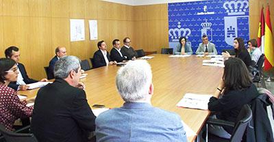 Un momento de la reunión de la Comisión Provincial de Urbanismo