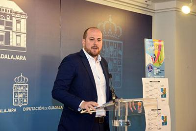 Lucas Castillo ha presentado esta mañana una nueva edición de Guadalajoven