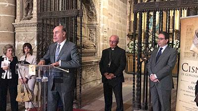 Inauguración de la exposición sobre Cisneros en la catedral de Sigüenza