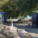 Las obras en el parque de la Fuente de la Niña podrían estar terminadas antes