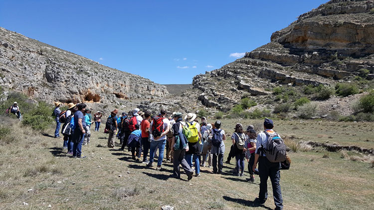 "Participantes en el ""Geolodia17"""