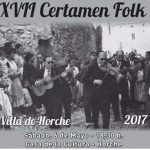 Horche celebra el sábado 6 de mayo su XVII Certamen Folk
