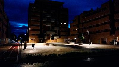 Nueva iluminación en Valdeluz