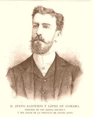 Justo Sanjurjo hacía 1880. De la Ilustración Española y Americana