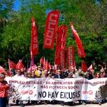 Cientos de trabajadores celebraron el 1º de Mayo en Guadalajara