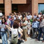 Apoyo de los funcionarios a los técnicos para los que Atica pide el cese