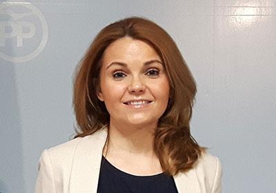 Marta Valdenebro, portavoz del PP en el ayuntamiento de Villanueva de la Torre