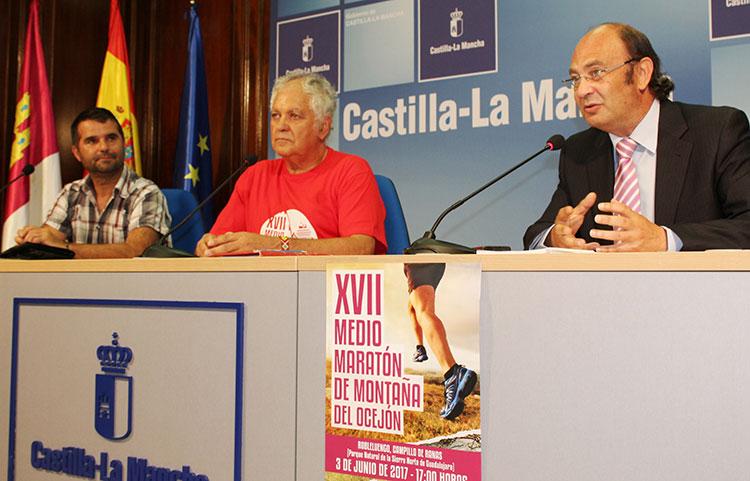 Presentación de la Media Maratón del Ocejón