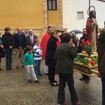 Casasana celebró San Marcos durante el fin de semana