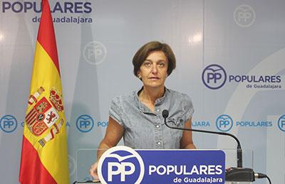 """La senadora del PP, Ana González, ha subrayado hoy que """"Page es el obstáculo más grande para el desarrollo y el progreso de Castilla-La Mancha""""."""