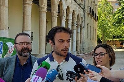 Rueda de prensa del concejal Manuel Granado sobre el Palacio del Infantado