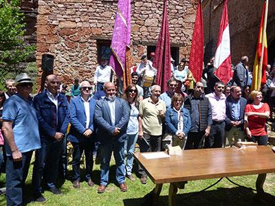 Los vecinos de los siete pueblos que participan en la misma se han constituido en asociación para mantener y reforzar esta tradición