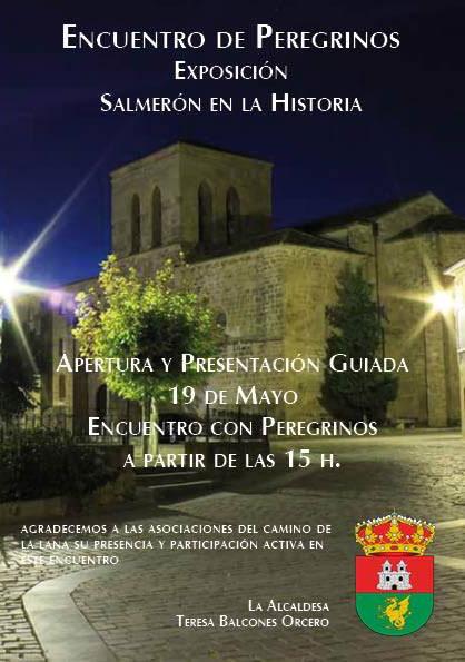 Convocatoria del encuentro de peregrinos en Salmerón
